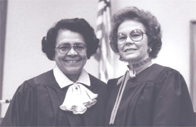 Judge Mercedes Deiz, Justice Betty Roberts
